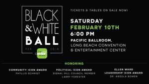 2018 Black & White Ball, Long Beach, CA