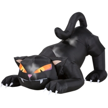 Halloween Inflated Cat