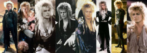 Goblin King costumes from Labyrinth