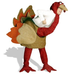 thanksgiving turkey-costume