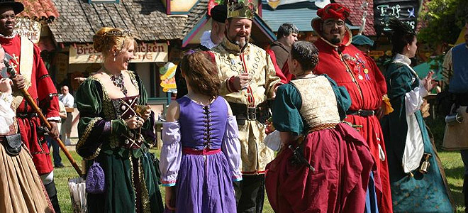 Renaissance Pleasure Faire & Southern California Renaissance Pleasure Faire held at the Santa Fe ...