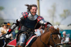 renaissance pleasure faire jousting
