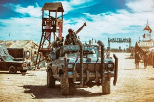 Wasteland Weekend post-apocalyptic muscle cars
