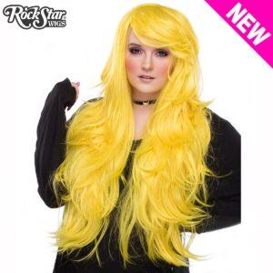 "Wigs Hologra 32"" Yellow Mix"