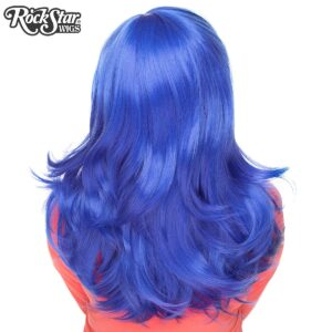 "Wigs Hologram 22"" Royal Blue"