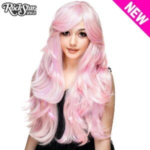 """Wigs Hologram 32"""" Powder Pink"""