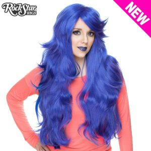 "Wigs Hologram 32""Royal Blue"