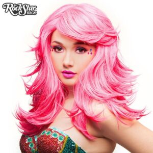 "Wigs Hologram 22"" Atomic Hot Pink"