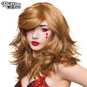 "Wigs Hologram 22"" Coffee Latte"