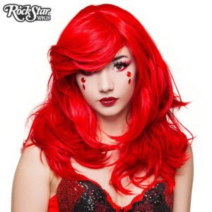 "Wigs Hologram 22"" Gem Red"