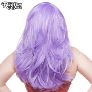 "Wigs Hologram 22"" Lavender Mix"