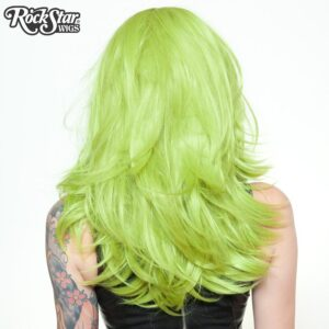 "Wigsd Hologram 22"" Lime Green"