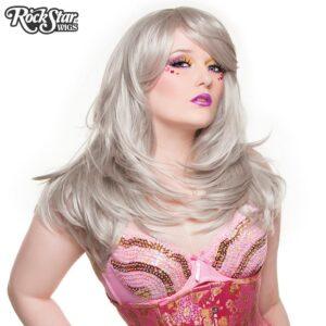 "Wigs Hologram 22"" Silver"
