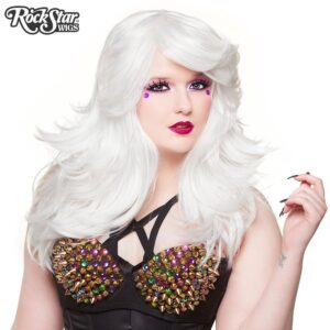 "Wigs Hologram 22"" White"