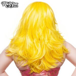 "Wigs Hologram 22"" Yellow Mix"