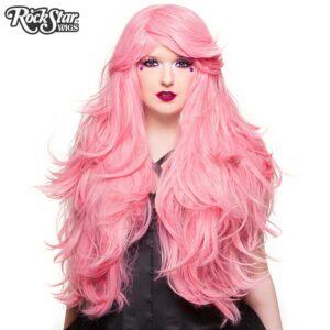 "Wigs Hologram 32"" Bubblegum Pink"
