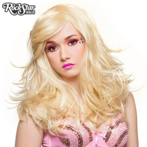 "Wigs Hologram 22"" Blonde mix"