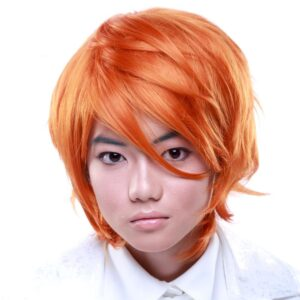 Wigs Boy Cut Long Copper