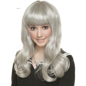 Wigs Classic Straight Silver