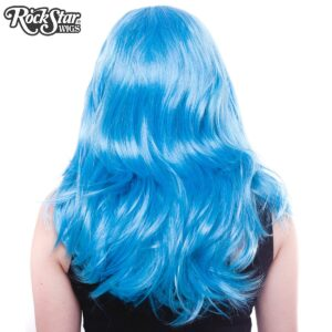 "Wigs Hologram 22"" Aqua Mix"