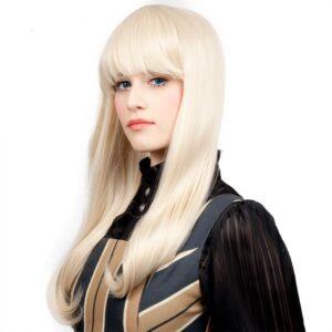 Wigs Classic Straight Black