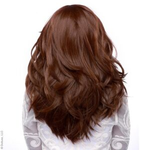 "Wig Hologram 22"" Chocolate Brown"