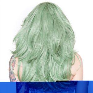Wig Hologram 22 Dark Mint Green
