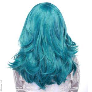 "Wig Hologram 22"" Turquoise"