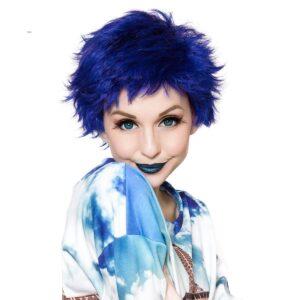 Wig Sassi Blue