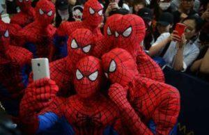 Comic-Con International Spiderman Selfie