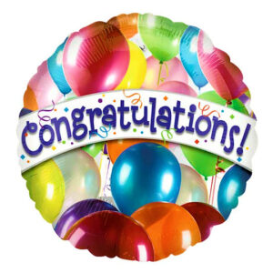 Congratulations Occasion Balloons