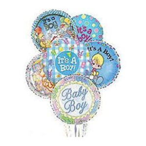 Occasion Balloons for New Baby Boy