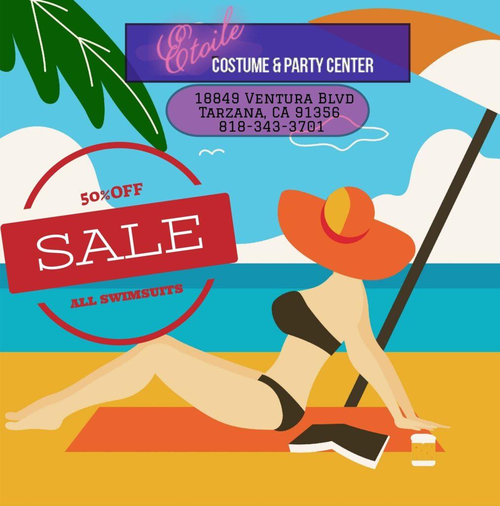 Swimsuits Bathing Suit Flyer