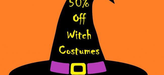 Witch & Devil Costume SALE!
